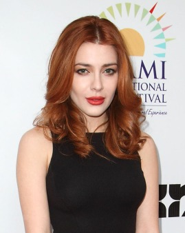 Actress Elena Satine